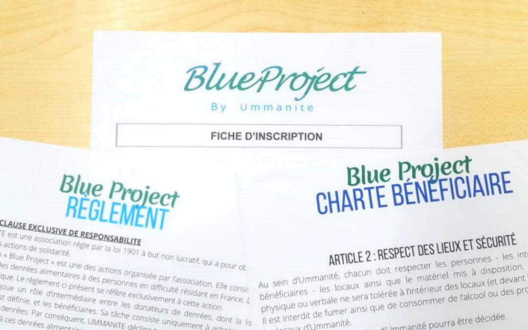 Le BLUE PROJECT : entretien des familles