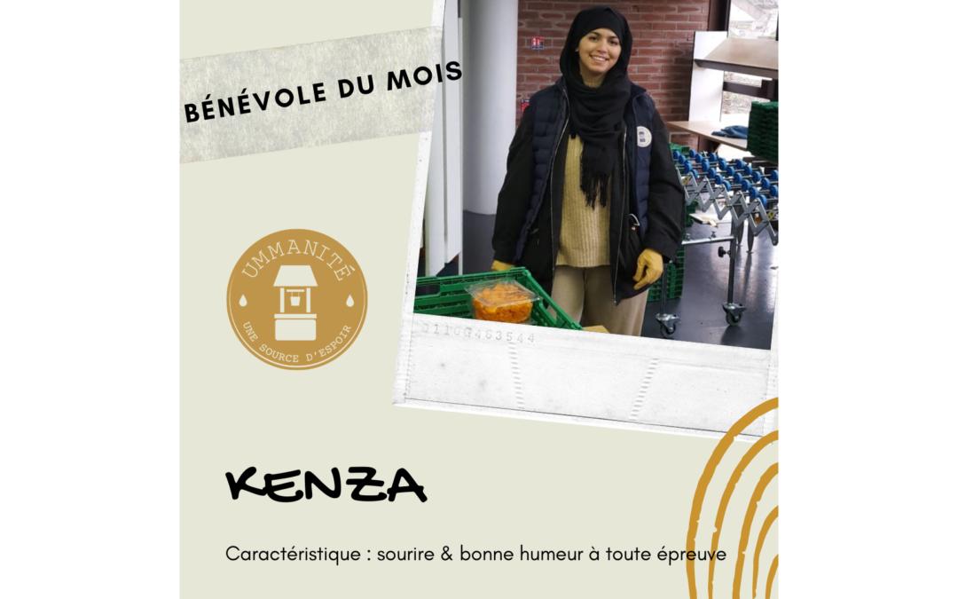 Kenza, notre bénévole du mois